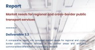 Report on Market needs for regional and cross-border PT